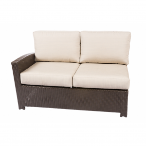 Bonita Java Left Loveseat