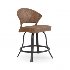 Cape Cod Armless Swivel Counter Stool