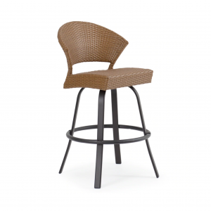 Cape Cod Armless Swivel Bar Stool