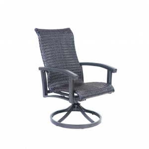 Cordova Woven Swivel Dining Chair