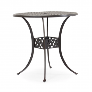 "Ormond 42"" Round Bar Table W/ Umbrella Hole"