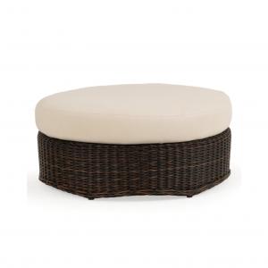 Round Oversized Ottoman