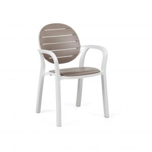 Palma Bianco Tortora Chair