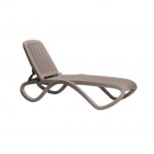 Tropico Tortora Chaise Lounge
