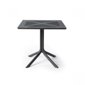 Clip 80 Antracite Table