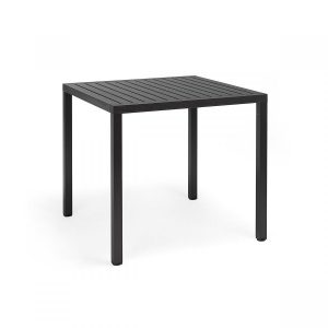 Cube 80 Antracite Dining Table