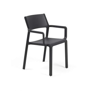 Trill Antracite Dining Armchair