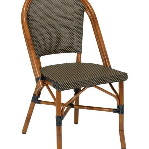 Bistro S Dark Bamboo Dining Chair