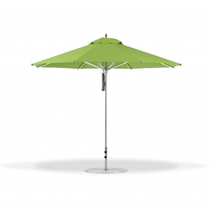 7.5' Square Pulley Lift Market Umbrella