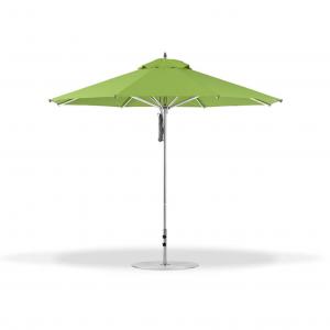 7.5' Square Pulley Lift Market Umbrella