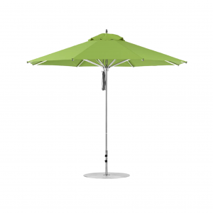 11' Aluminum Market Umbrella with Pulley Lift