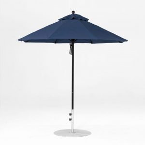 7.5' Pulley Lift Market Umbrella