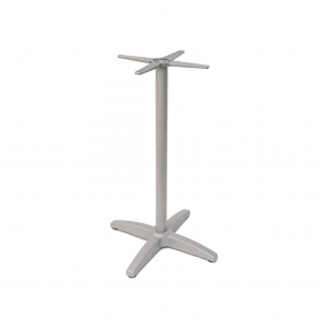 "41"" Bar Height Aluminum Table Base with Cast weighted bottom for 24-36"" Table Tops"