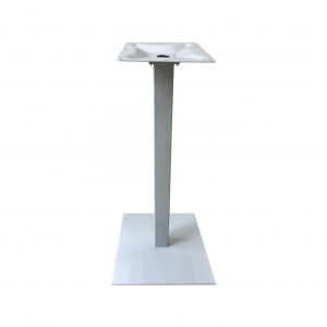 "42"" Aluminum Bar High Base with Cast Weighted Bottom for 24-36"" Table Tops"