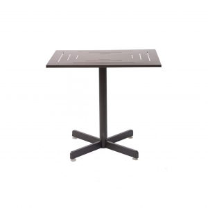 "24x24"" Aluminum Table Top with Umbrella Hole"