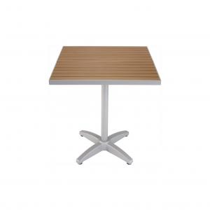 """32x48"""" Teak/Aluminum Square Table Top"""
