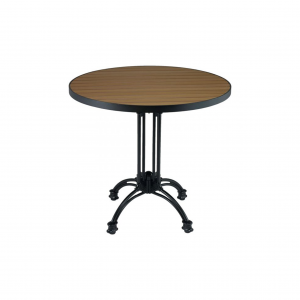 "32"" Teak/Aluminum Round Table top"