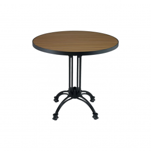 "36"" Teak/Aluminum Round Table Top"