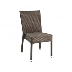 Wicker Armless Side Chair