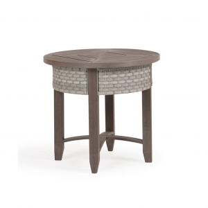 "Arcadia 25.5"" Round End Table with PoliSoul Top"