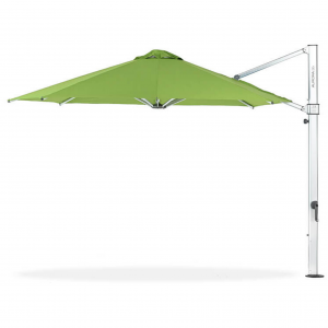 Aurora 9' Square Cantilever Umbrella with Full 360 Degree Rotation