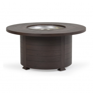 "Riviera 48"" Round Fire Pit with Lid"