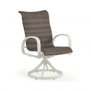 Sebastian Swivel Tilt Woven Dining Chair