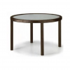 Round Woven Dining Table