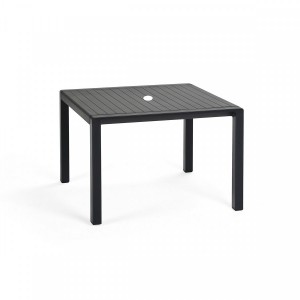 Aria Tavolino 60 Antracite Side Table W/ Umbrella Hole