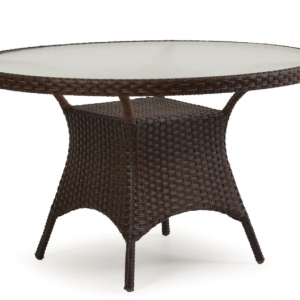 "Alexandria 48"" Round Dining Table with No Umbrella Hole"