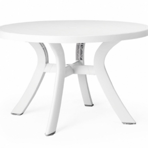"Toscana Bianco 47"" Round Dining Table"