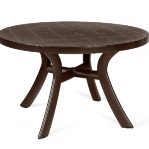 "Toscana Caffe 47"" Round Dining Table"