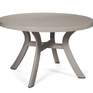 "Toscana Tortora 47"" Round Dining Table"
