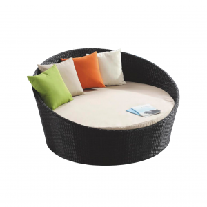 """Round 63"""" Daybed with No Canopy"""