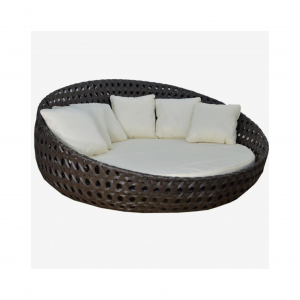 """Round 83"""" Daybed with No Canopy"""