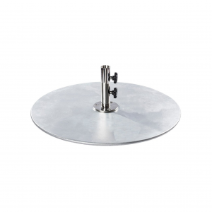 100 lb  Galvanized Steel Plate Umbrella Base