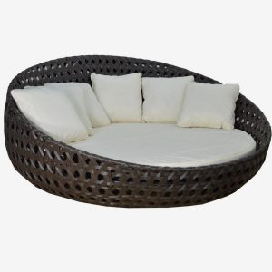 "Round 83"" Daybed with No Canopy"