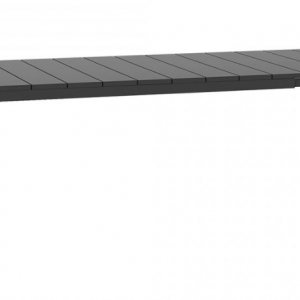 Rio 210 Extension Antracite Table