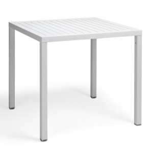 Cube 80 Bianco Dining Table