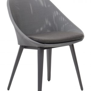 Sling Upholstered Dining Chair with Quick Dry Foam Cushion