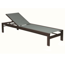 """Valrico 12"""" Seat Armless Chaise Lounge"""