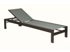 "Valrico Armless 18"" Seat Chaise Lounge with Wheels"