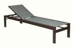 """Valrico Armless 18"""" Seat Chaise Lounge"""
