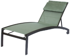Valiant Chaise Lounge with Wheels