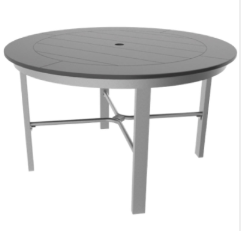 "Marine Grade Polymer 48"" Round Dining Table"
