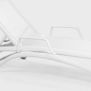 Bianco Arms for Atlantico Chaise Lounge