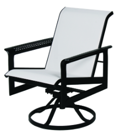 South Beach Hi-Back Swivel Tilt Chair