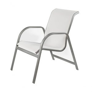 Diamond Relaxed Sling Dining Chair