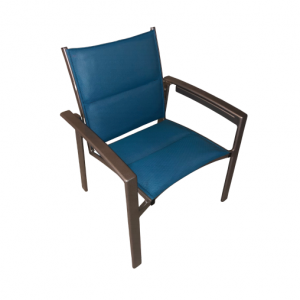 Seaside Padded Sling Dining Chair