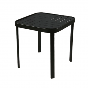 Hermosa Square Side Table W/ Boardwalk Top